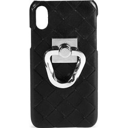 Bottega Veneta Women's Leather iPhone 11 Case - Black Silver found on Bargain Bro Philippines from Saks Fifth Avenue for $580.00