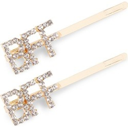 Bari Lynn Girl's 2-Pack BFF Hair Clip Set found on Bargain Bro Philippines from Saks Fifth Avenue for $20.00