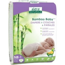 Bamboo Baby Pack of 192 Disposable Diapers - Newborn