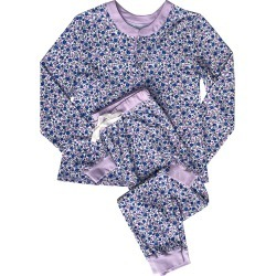 Morgan Lane Women's Kaia Two-Piece Floral Pajama Set - Crushed Blueberries - Size XXL found on MODAPINS from Saks Fifth Avenue for USD $170.00