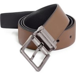 Reversible Square Buckle Leather Belt found on Bargain Bro Philippines from The Bay for $35.00