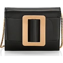 Boyy Women's Buckle Leather Wallet-On-Chain - Black found on MODAPINS from Saks Fifth Avenue for USD $395.00