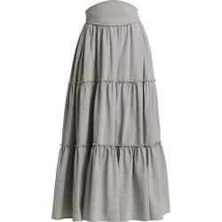 Tati Tiered Midi Skirt