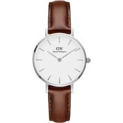 Classic Petite St. Mawes Silvertone and Leather Strap Watch, 28mm found on Bargain Bro India from Lord & Taylor for $159.00