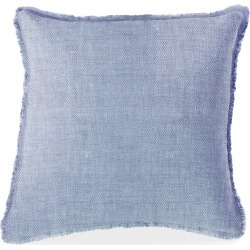 Anaya Chambray Soft Linen Pillow - Size Small found on Bargain Bro from Saks Fifth Avenue for USD $57.00