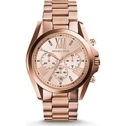 Michael Kors Women's Rose Goldtone Chronograph Watch - Rose Gold found on Bargain Bro India from Saks Fifth Avenue for $250.00