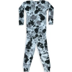 B.Steps by Baby Steps Baby's, Little Boy's & Boy's Stormy 2-Piece Tie-Dye Thermal Pajama Set - Stormy - Size 5 found on Bargain Bro from Saks Fifth Avenue for USD $31.16