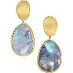 Marco Bicego Women's Lunaria 18K Yellow Gold & Black Mother-Of-Pearl Drop Earrings - Gold found on Bargain Bro from Saks Fifth Avenue for USD $1,573.20