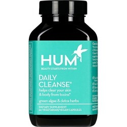 Hum Nutrition Women's Daily Cleanse Clear Skin & Acne Supplement