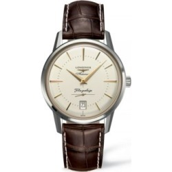 Analog Leather Strap Watch found on MODAPINS from The Bay for USD $1900.00