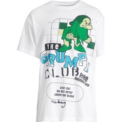 Iceberg Men's Grumpy Graphic Tee - White - Size Large found on MODAPINS from Saks Fifth Avenue for USD $118.00