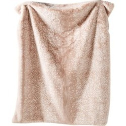 Fawn Faux Fur Throw Blanket found on Bargain Bro India from The Bay for $148.00
