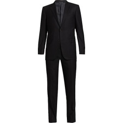 Ermenegildo Zegna Men's Tonal Wool Suit - Grey - Size 52 (42) R found on MODAPINS from Saks Fifth Avenue for USD $3950.00