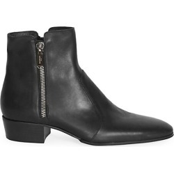 Balmain Men's Mike Leather Boots - Noir - Size 44 (11) found on MODAPINS from Saks Fifth Avenue for USD $995.00