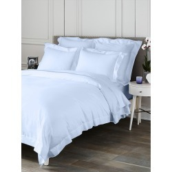 Saks Fifth Avenue Butterfly Flange Duvet - Sky - Size Full found on Bargain Bro from Saks Fifth Avenue for USD $169.10