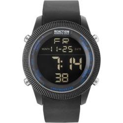 Montre numérique avec bracelet en silicone noir found on Bargain Bro India from La Baie for $99.00