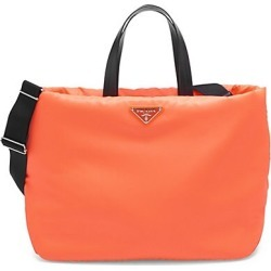 Prada Women's Soft Tote - Arancio found on Bargain Bro Philippines from Saks Fifth Avenue for $1350.00