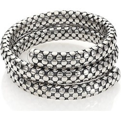 John Hardy Dot Sterling Silver Double-Coil Bracelet - Silver found on Bargain Bro Philippines from Saks Fifth Avenue for $995.00