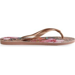 Havaianas Women's Slim Animal Floral Flip Flops - Crocus Rose - Size 5 found on MODAPINS from Saks Fifth Avenue for USD $30.00