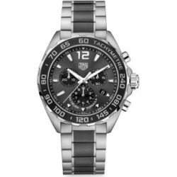 Formula 1 43MM Stainless Steel & Ceramic Quartz Tachymeter Chronograph Bracelet Watch found on Bargain Bro Philippines from Saks Fifth Avenue Canada for $2193.74