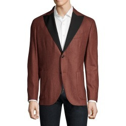 Boglioli Men's Flannel Wool Dinner Jacket - Red - Size 56 (46) found on MODAPINS from Saks Fifth Avenue OFF 5TH for USD $289.97