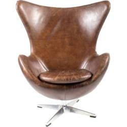 St Anne Club Chair Brown
