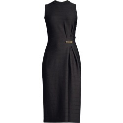 Shoshanna Women's Keri Ruched Dress - Jet - Size 4 found on Bargain Bro India from Saks Fifth Avenue for $158.00