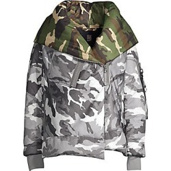 Bacon Women's Big Blanket 62 Camo Jacket - Grey Camo - Size Large found on MODAPINS from Saks Fifth Avenue for USD $226.77