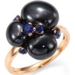 Blue Sapphires, Ceramic & 18K Rose Gold Ring found on Bargain Bro UK from Saks Fifth Avenue UK