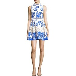 Alexis Women's Farah A-Line Dress - Santorini - Size Medium found on MODAPINS from Saks Fifth Avenue for USD $340.49