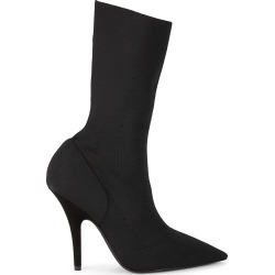 Yeezy Women's High-Heel Sock Boots - Black - Size 35 (5) found on MODAPINS from Saks Fifth Avenue OFF 5TH for USD $299.99