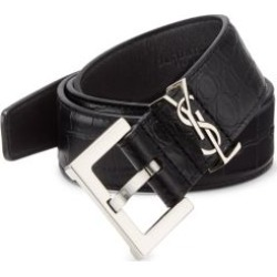 Croc-Embossed Leather Belt found on Bargain Bro Philippines from Saks Fifth Avenue AU for $609.97