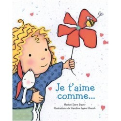 Je t'aime comme Book (French Version)