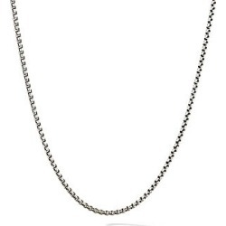 David Yurman Women's Chain Necklace - Silver found on MODAPINS from Saks Fifth Avenue for USD $295.00