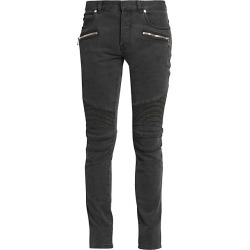Balmain Men's Ribbed Skinny Jeans - Black - Size 34 found on MODAPINS from Saks Fifth Avenue for USD $995.00