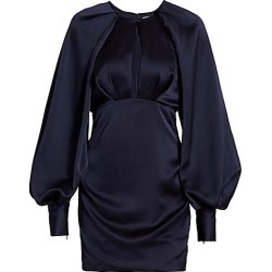 Acler Women's Paringa Puff Sleeve Mini Dress - Midnight - Size 4 found on MODAPINS from Saks Fifth Avenue for USD $158.00