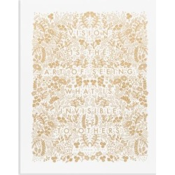 Art of Seeing Screen-Print Wall Art found on Bargain Bro UK from Saks Fifth Avenue UK