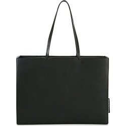 Alexander Wang Women's She.E.O. Leather Shopper - Black found on MODAPINS from Saks Fifth Avenue for USD $312.37