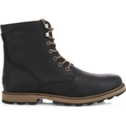Madison Grain Leather Combat Boots found on Bargain Bro UK from Saks Fifth Avenue UK