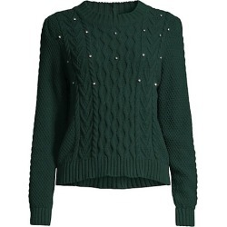 Embellished Cable Knit Sweater found on Bargain Bro from Saks Fifth Avenue Canada for USD $284.50