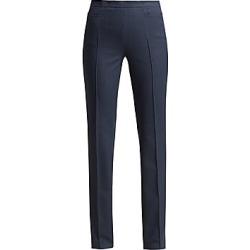 Akris punto Women's Francoise Dot Jacquard Pants - Blue - Size 14