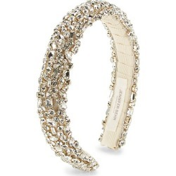 Jennifer Behr Women's Czarina Crystal Headband - Silver found on MODAPINS from Saks Fifth Avenue for USD $450.00