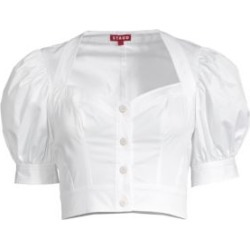 Rene Puff Sleeve Cotton Blouse found on Bargain Bro Philippines from Saks Fifth Avenue Canada for $79.21