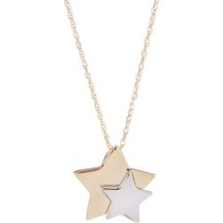 10K Yellow Gold Star Necklace found on GamingScroll.com from The Bay for $360.00