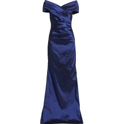 Teri Jon by Rickie Freeman Women's Taffeta Gown - Slate - Size 12 found on MODAPINS from Saks Fifth Avenue for USD $600.00
