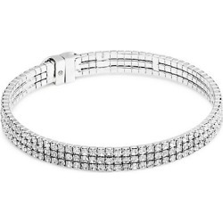 Kate Spade New York Women's Silvertone Embellished Thin Bracelet - Silver found on Bargain Bro Philippines from Saks Fifth Avenue for $68.00