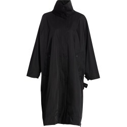 Issey Miyake Women's Compact Botanical Stand Collar Trench Coat - Black - Size 3 found on MODAPINS from Saks Fifth Avenue for USD $1940.00
