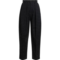 Magda Butrym Women's Shaldon Swarovski Crystal Studded Pants - Black - Size 4 found on MODAPINS from Saks Fifth Avenue for USD $1800.00