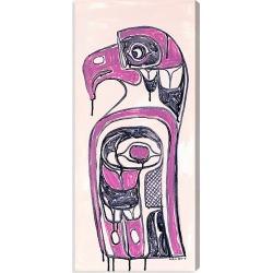 Oliver Gal Celery Jones Ornate Totem Canvas Art - Size 16 X 36