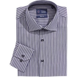 Slim-Fit Stripe Dress Shirt found on GamingScroll.com from The Bay for $49.99